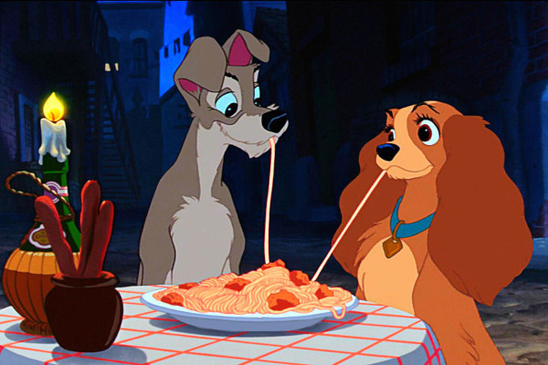 7 Disney cartoons you should put on right now - RSPCA NSW - Lady and the Tramp